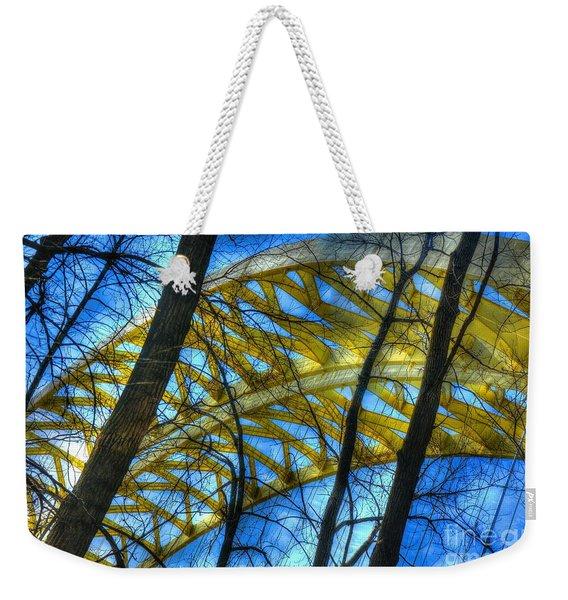 Tree Bridge Designs Weekender Tote Bag