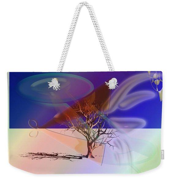 Tree Cut Weekender Tote Bag