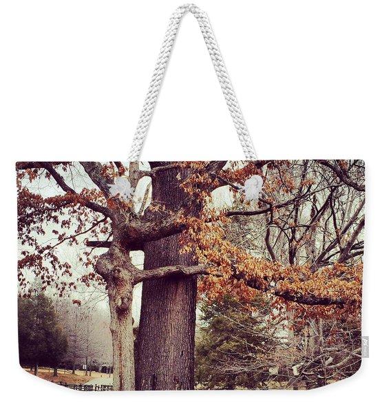 Tree Hugging Weekender Tote Bag