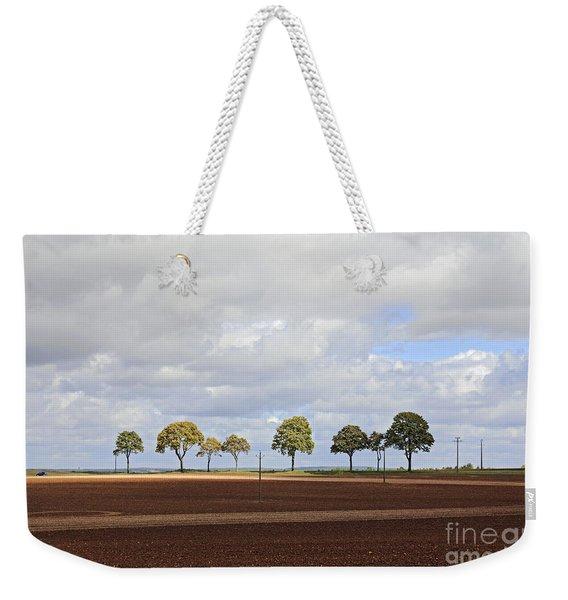 Tree Line France Weekender Tote Bag