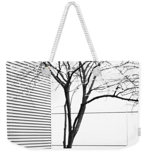 Tree Lines Weekender Tote Bag