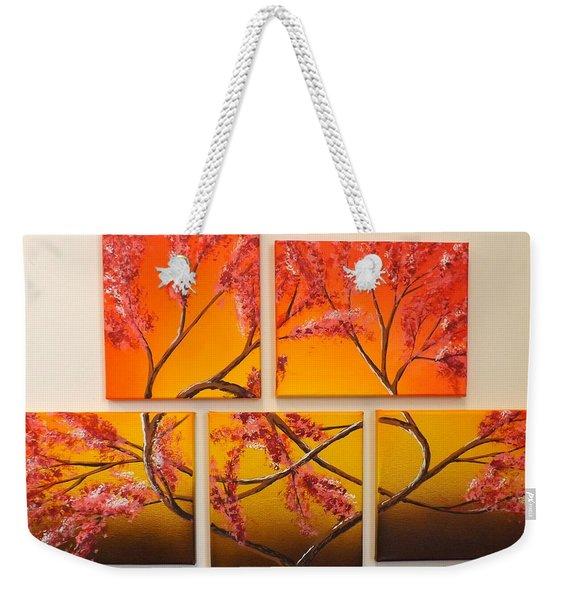 Tree Of Infinite Love Weekender Tote Bag