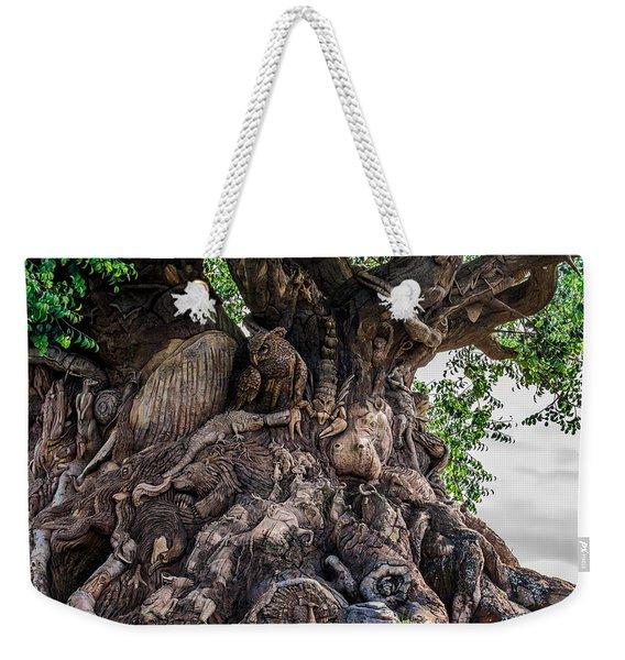 Tree Of Life Close Weekender Tote Bag