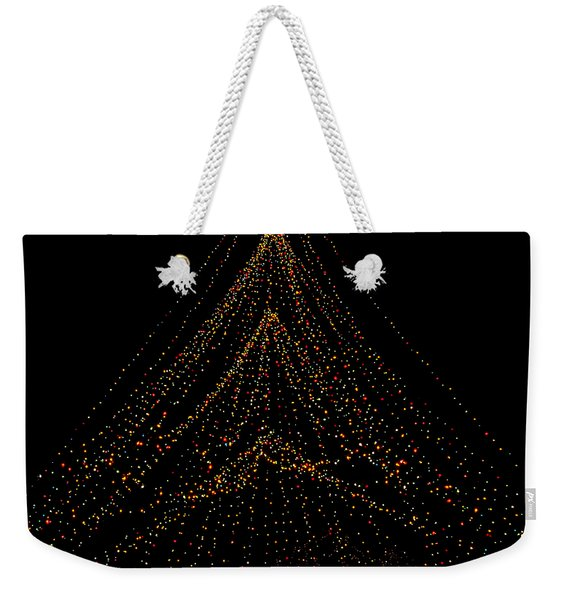 Tree Of Lights Weekender Tote Bag