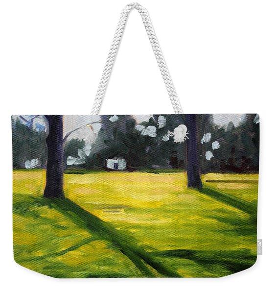 Tree Shadows Weekender Tote Bag