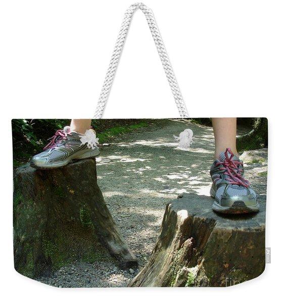Tree Stump Stilts Weekender Tote Bag