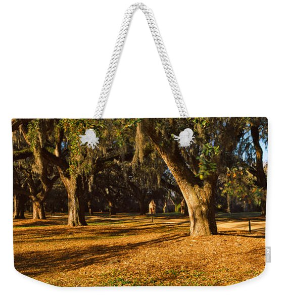 Trees In A Garden, Boone Hall Weekender Tote Bag
