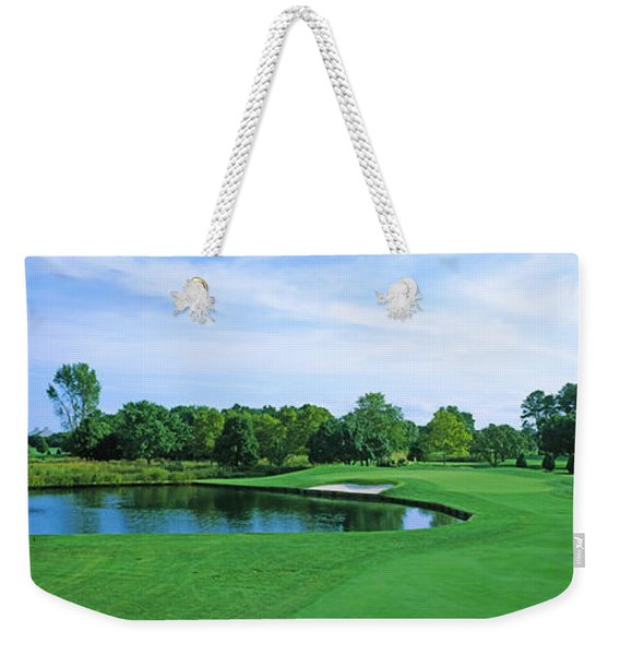 Trees In A Golf Course, Rehoboth Beach Weekender Tote Bag