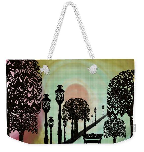 Trees Of Lights Weekender Tote Bag