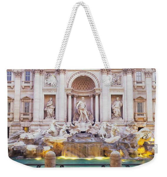 Trevi Fountain Rome Italy Weekender Tote Bag