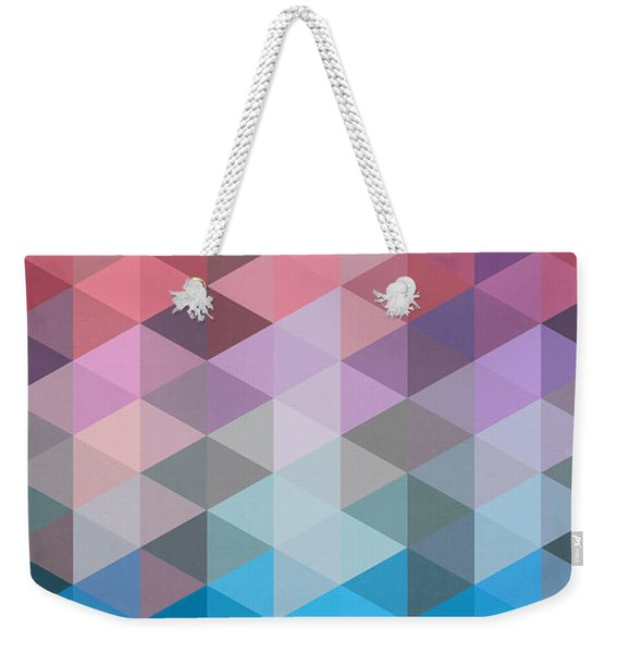 Triangles Weekender Tote Bag
