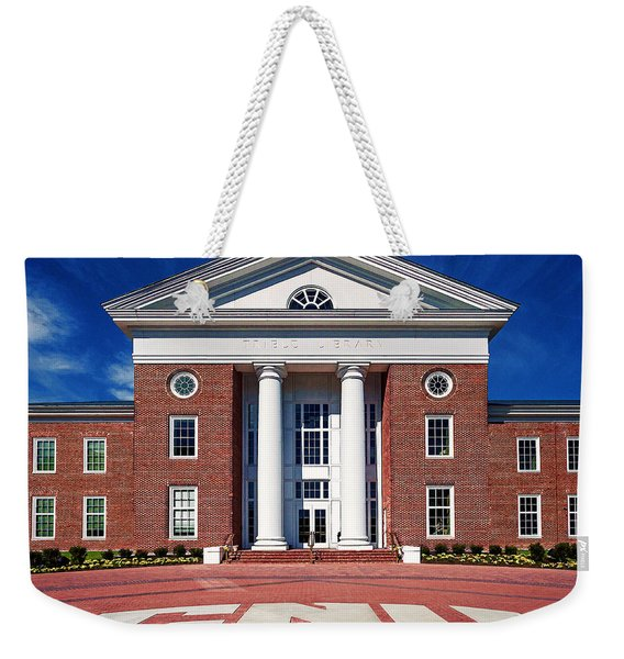 Trible Library Christopher Newport University Weekender Tote Bag
