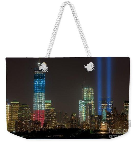 Tribute In Light Xiii Weekender Tote Bag