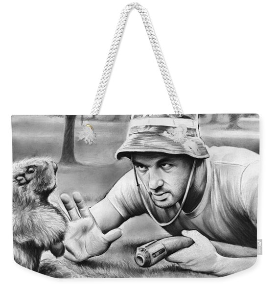 Tribute To Caddyshack Weekender Tote Bag