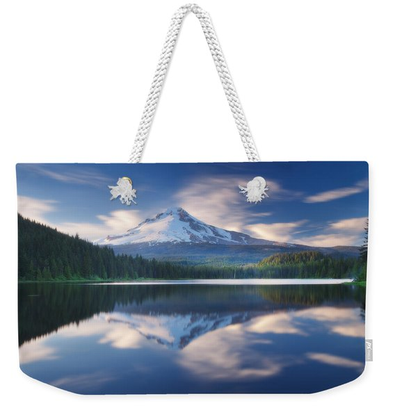 Trillium Lake Escape Weekender Tote Bag
