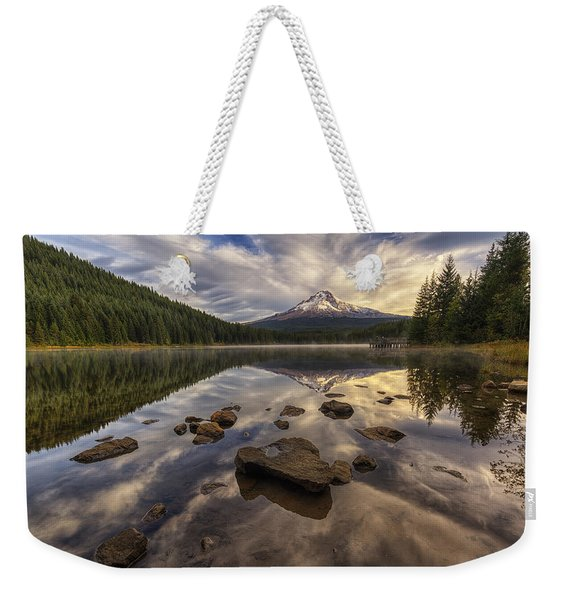 Trillium Reflection Weekender Tote Bag