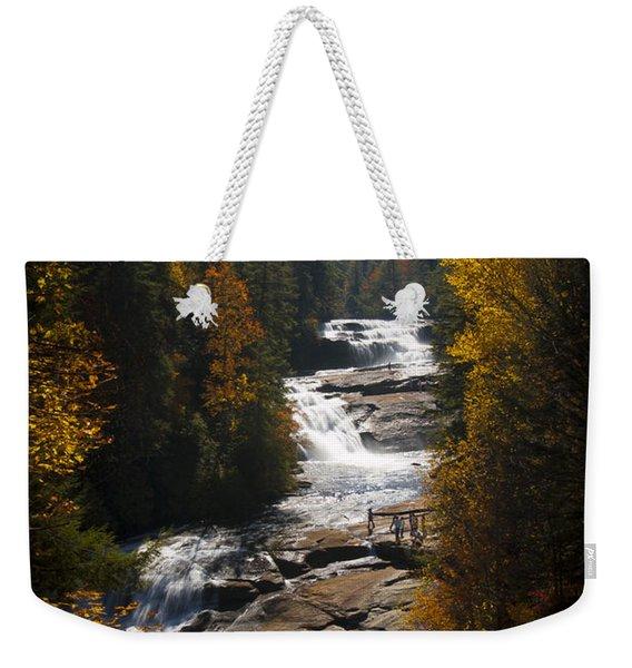 Triple Falls Weekender Tote Bag