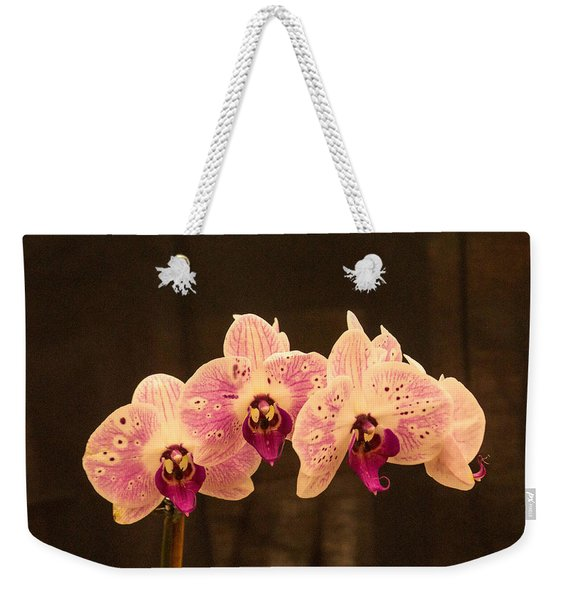 Triple Orchid Arrangement 1 Weekender Tote Bag
