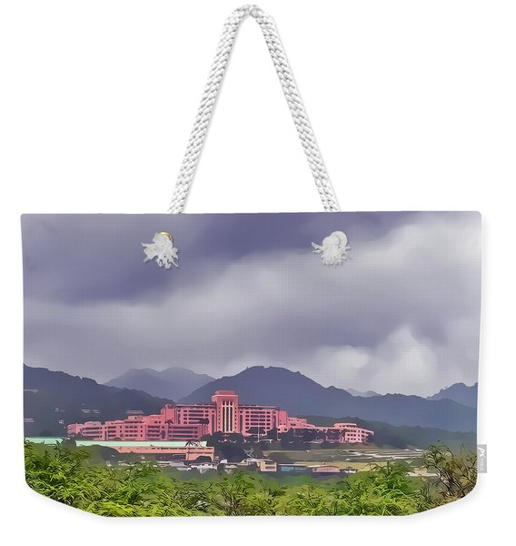 Tripler Army Medical Center Weekender Tote Bag