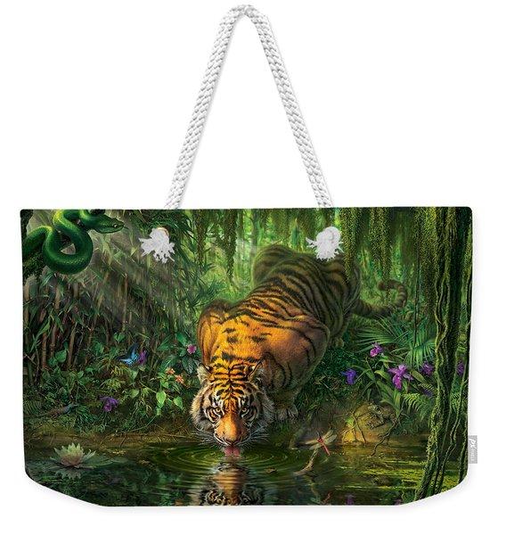 Aurora's Garden Weekender Tote Bag