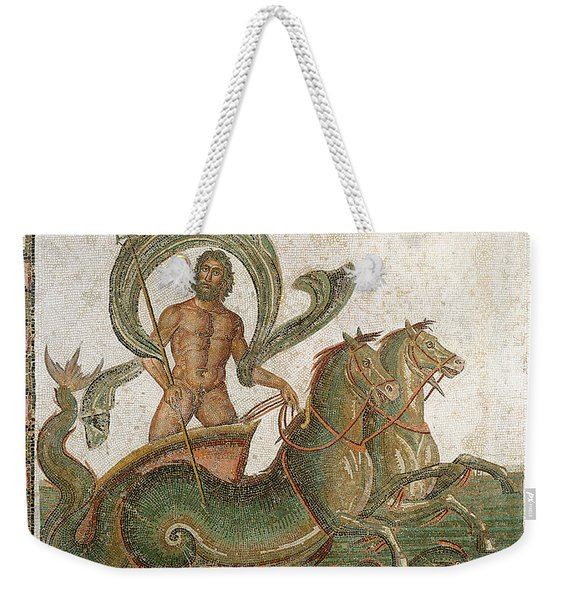 Triumph Of Neptune Weekender Tote Bag