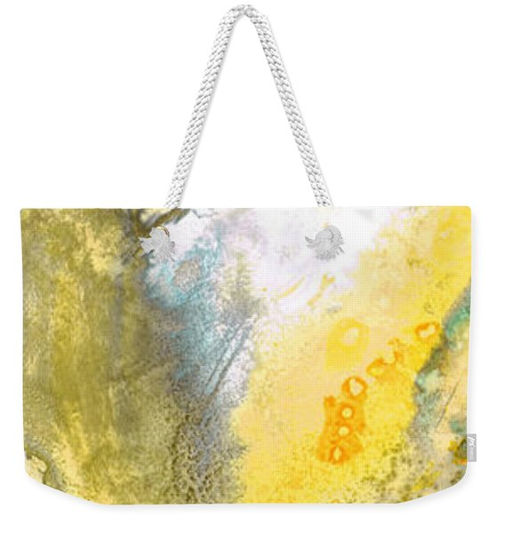 Triumph - Yellow Abstract Art By Sharon Cummings Weekender Tote Bag