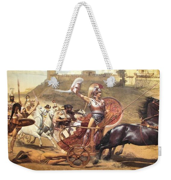 Triumphant Achilles Weekender Tote Bag