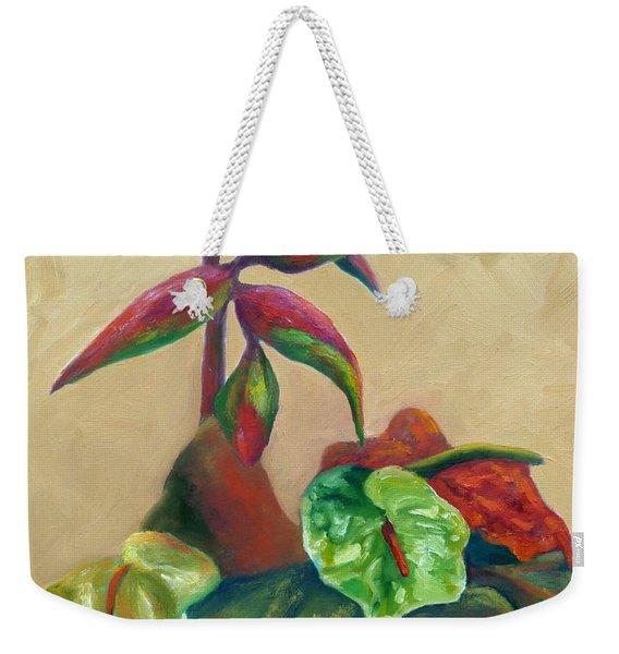 Tropical Arrangement Weekender Tote Bag