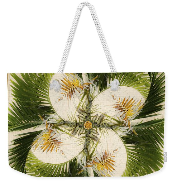 Tropical Design Weekender Tote Bag