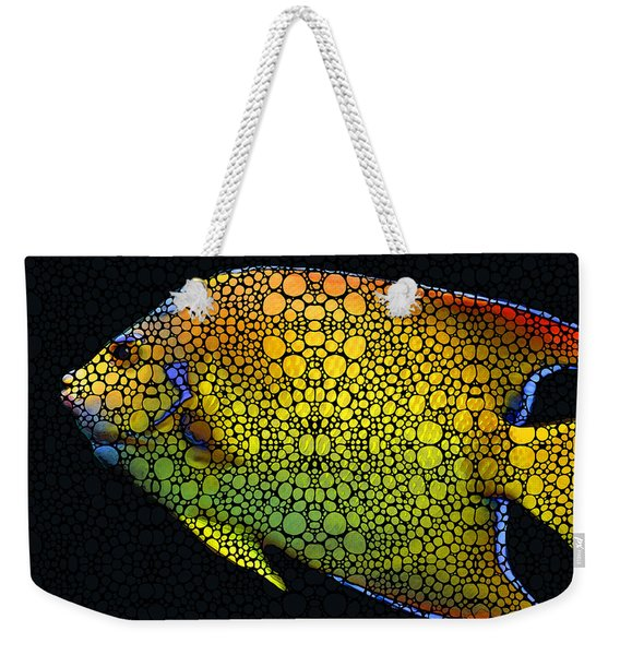 Tropical Fish 12 - Abstract Art By Sharon Cummings Weekender Tote Bag