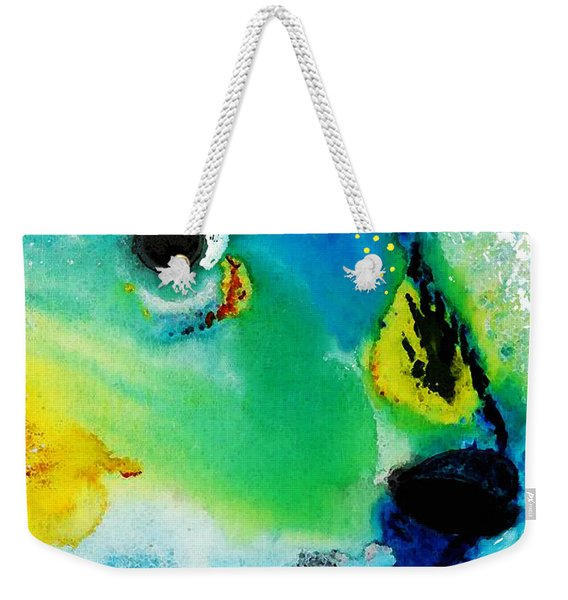 Tropical Fish 2 - Abstract Art By Sharon Cummings Weekender Tote Bag
