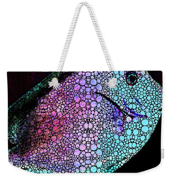 Tropical Fish 4 -  Stone Rock'd Art By Sharon Cummings Weekender Tote Bag