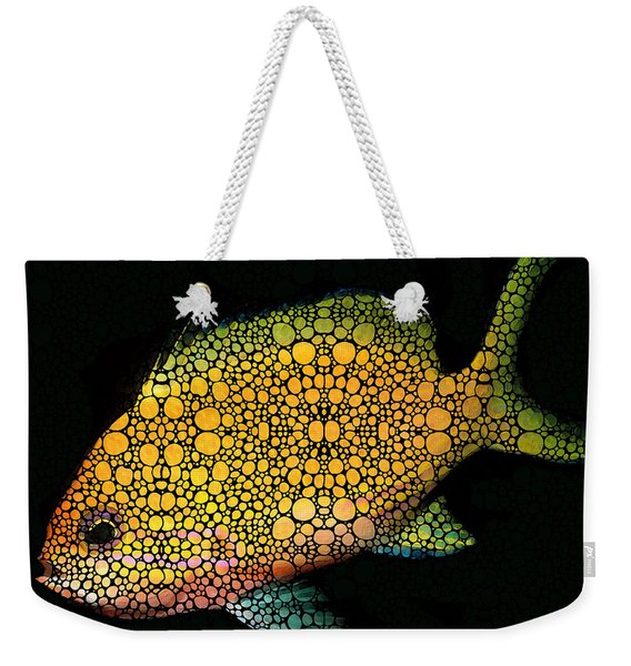 Tropical Fish Art 14 By Sharon Cummings Weekender Tote Bag
