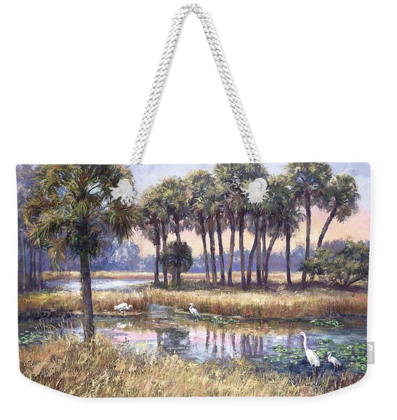 Tropical Friends Weekender Tote Bag