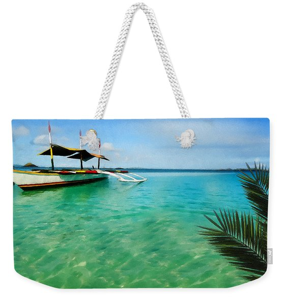 Tropical Getaway Weekender Tote Bag