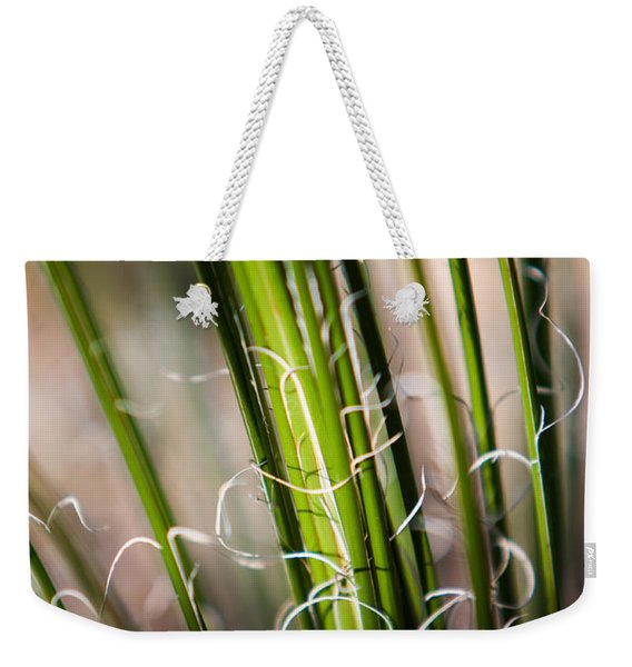 Weekender Tote Bag featuring the photograph Tropical Grass by John Wadleigh