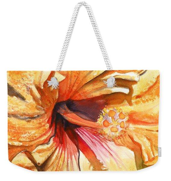 Tropical Hibiscus 3 Weekender Tote Bag