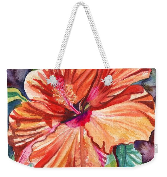 Tropical Hibiscus 5 Weekender Tote Bag