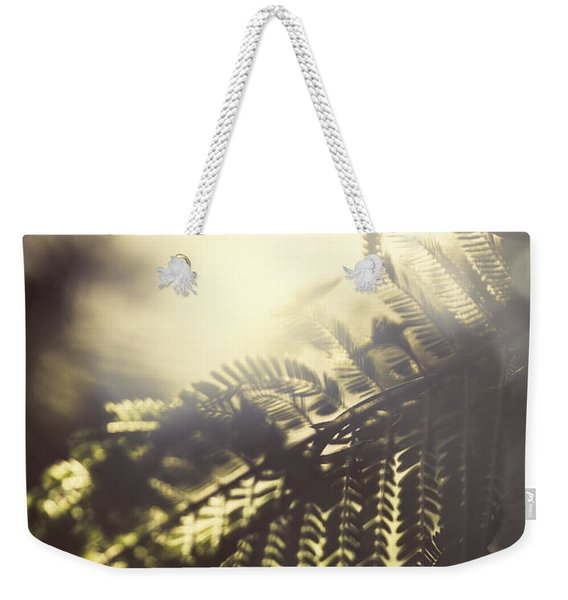 Tropical Jungle Sundown Weekender Tote Bag