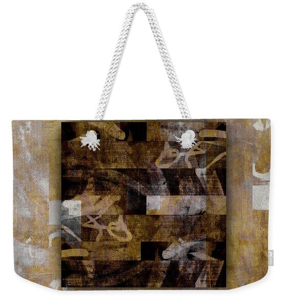 Tropical Panel Number Three Weekender Tote Bag
