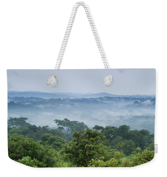 Tropical Rainforest Kibale Np Western Weekender Tote Bag