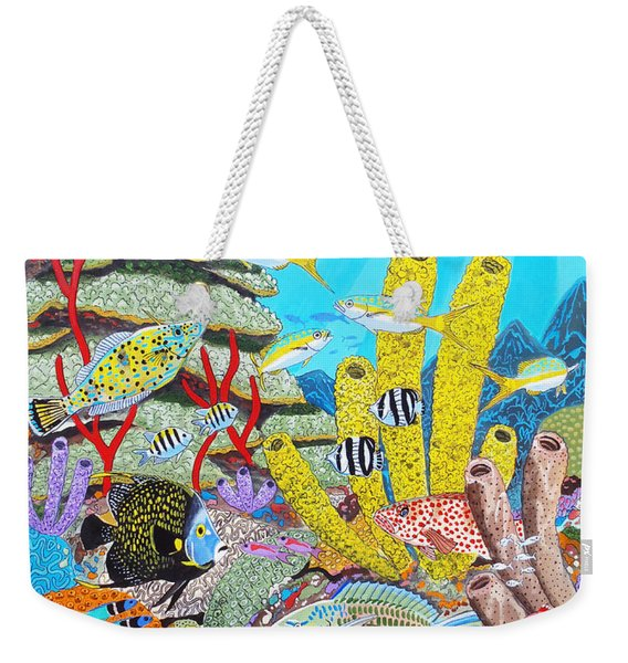 Tropical Reef Weekender Tote Bag