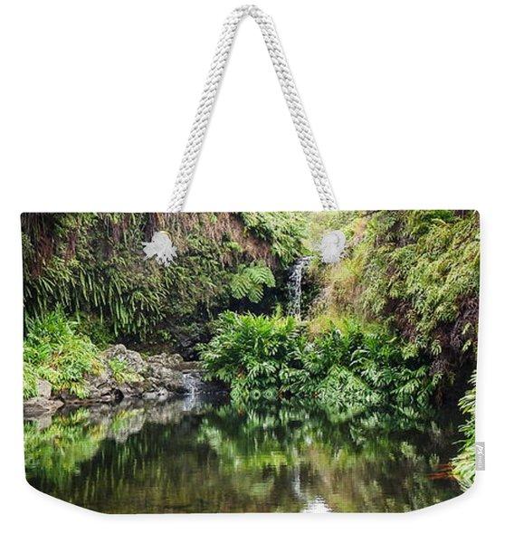 Tropical Reflections Weekender Tote Bag