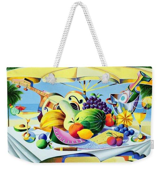 Tropical Still Life Weekender Tote Bag