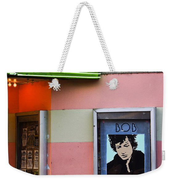 Weekender Tote Bag featuring the photograph Troubadour by Skip Hunt
