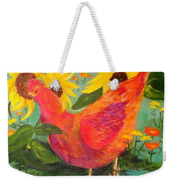 Trouble Weekender Tote Bag