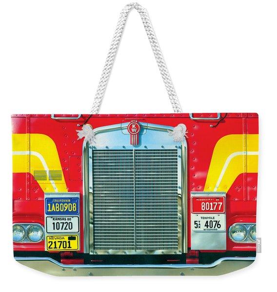 Trucking Weekender Tote Bag