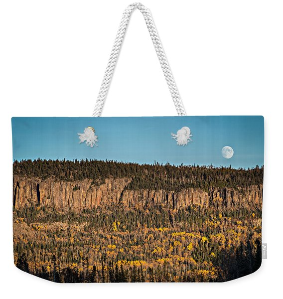 Weekender Tote Bag featuring the photograph True Grit by Doug Gibbons
