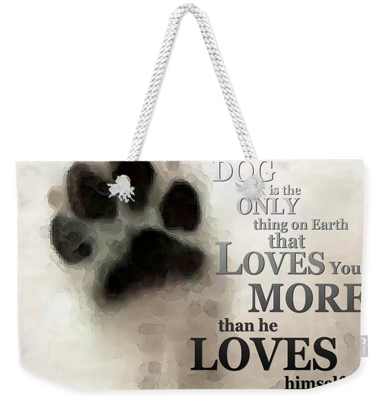 True Love - By Sharon Cummings Words By Billings Weekender Tote Bag