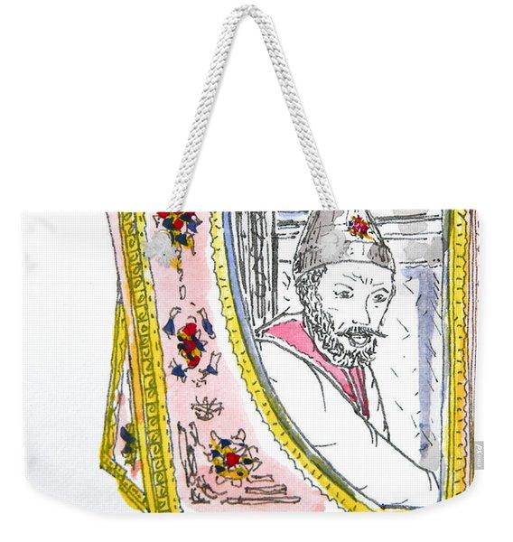Tsar In Carriage Weekender Tote Bag